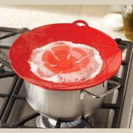 New Arrival gadżety kuchenne pokrywka silikonowa wyciek korek pokrywka 28.5 cm średnica garnek pokrywki naczynie