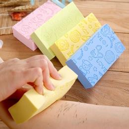 Sprzedaż 1 PC 3 style miękkie do czyszczenia ciała wanna Spa płuczka z myjką kąpiel dla dorosłych gąbka do czyszczenia prysznic