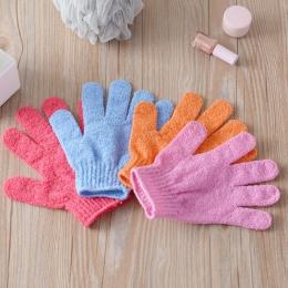 Pięć Palców Kąpieli Ręcznik Rękawice Wanna Prysznic Cukierkowe Kolory Mycia Ciała Skóry Spa Bath Scrubber Czyste Szczotka Bath U