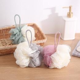 Moda piłka do kąpieli Bathsite wanny fajne piłka skrobak do czyszczenia rąk do czyszczenia gąbka pod prysznic gąbka do mycia pro