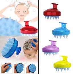 SILISCRUB-oryginalna silikonowe szampon szczotka do włosów szczotka do mycia