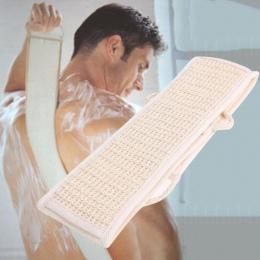 Miękkie Loofah powrót Scrubber mężczyźni kobiety ręcznik kąpielowy złuszczający Loofah masaż na prysznic do czyszczenia ciała