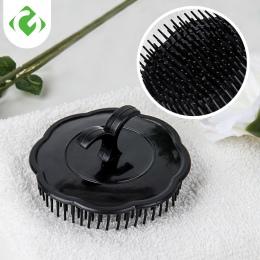 GUANYAO głowy szczotka do masażu miękki klej szampon szczotka łazienka produkty z tworzywa sztucznego sanitarnych grzebień do my