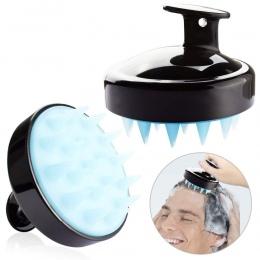 Z tworzywa sztucznego silikonowe masażer szampon masaż głowy szczotka do mycia włosów ciała szczotka pod prysznic wanna Spa szcz