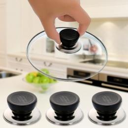 1 sztuk uniwersalny naczynia kuchenne wymiana naczynie Pot Pan pokrywa okrągła gospodarstwa gałka śruba uchwyt darmowa wysyłka