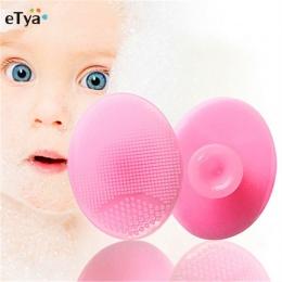 3 sztuk silikonowy Pad do mycia twarzy złuszczający SPA zaskórnika do czyszczenia twarzy szczotka do masażu dla dzieci głowica p