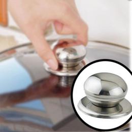 Nowe narzędzie kuchenne naczynia kuchenne wymienne patelnia ze stali nierdzewnej szkło garnek pokrywa uchwyt gałka uchwyt Grip