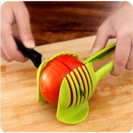 Ręczny kreatywna kuchnia owoce i warzywa krajalnica do pomarańczowy Lemon Cutter ciasto klip wielofunkcyjne narzędzie kuchenne