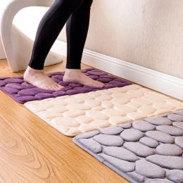 Koral polar łazienka dywanik z pianką z pamięcią kształtu zestaw do kąpieli wc antypoślizgowe maty podłogowe dywan zestaw matera