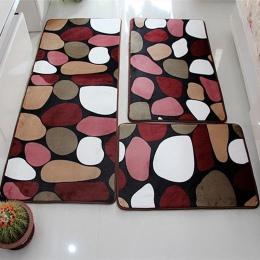 Miękkie zestaw Mat do kąpieli absorpcji wody dywan łazienkowy dywan łazienka mata domu salon kuchnia drzwi podłoga mata do toale