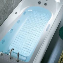 Prostokąt 40x100/39x69 cm pcv antypoślizgowa mata do kąpieli miękka łazienka mata do masażu przyssawka antypoślizgowa wanna dywa