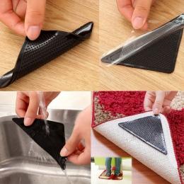 4 sztuk/partia dywan antypoślizgowa mata kąpielowa naklejki antypoślizgowe prysznic listwy naklejki bezpieczeństwa mata Pad łazi