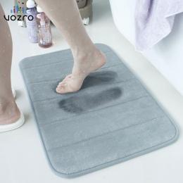 [Wiele rozmiary] VOZRO mata do kąpieli pamięci dywan dywaniki wc zabawna wanna pokój dzienny drzwi schody w łazience stóp maty p