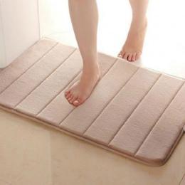 Przydatne 40*60 cm maty do kąpieli łazienka poziome paski dywan chłonne antypoślizgowe maty do kąpieli łazienka carpe do kąpieli