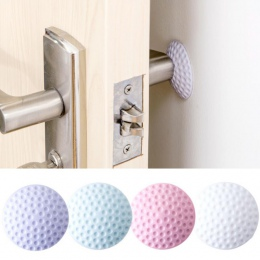 1 sztuk lub 2 sztuk Home Office praktyczne samoprzylepne okrągłe ochraniacz ścienny klamka do drzwi osłonka na zderzak zatyczka