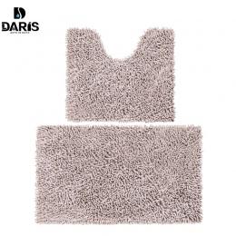 SDARISB miękka mata podłogowa dywan z długim włosiem dywan wejście Chenille łazienka absorpcji dywan komplet dywaników łazienkow
