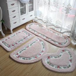 40*60 CM wszystkie kształty 5 kolory antypoślizgowe maty do kąpieli, łazienka mata dywan dywany dla toaleta wc pokój dzienny syp