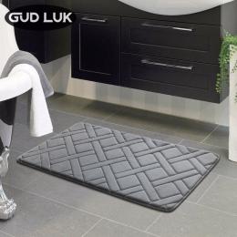 Wysokiej jakości 40x60 cm rectangl mata do kąpieli łazienka sypialnia antypoślizgowe maty z pianki dywan prysznic dywan do kuchn