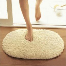 40x60 cm dywaniki łazienkowe chłonne miękkie Memory Foam wycieraczka dywaniki podłogowe owalne antypoślizgowe maty do kąpieli zw
