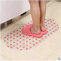 2019 nowy moda nowo antypoślizgowe dywanik łazienkowy łazienka prysznic Pad PVC Pebble przyssawka mata łazienkowa z wysokiej jak