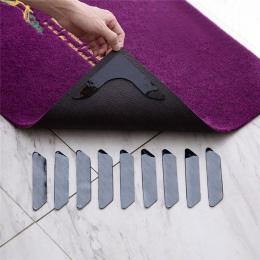 8 PCSHome dywanik podłogowy dywan Mat chwytaki antypoślizgowe antypoślizgowe naklejki wielokrotnego użytku, z możliwością prania