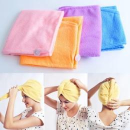 Magia Twist suszarka do włosów szybkie suszenie ręczników Salon Wrap Turban Cap kapelusz nowy A1148