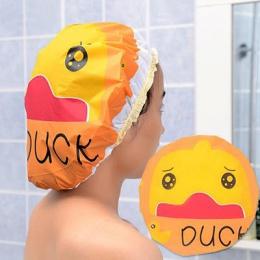 AsyPets Cute Cartoon zwierząt wodoodporny prysznic Cap wielokrotnego użytku koronki elastyczna opaska kąpieli włosów czapki kape