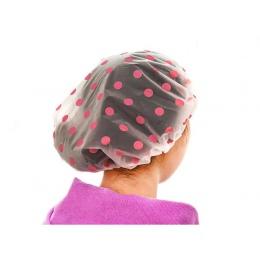 1 sztuk prysznic czepek kąpielowy kobiety kapelusz saun elastyczna czapka z daszkiem do włosów dla dzieci pani łazienka wodoodpo