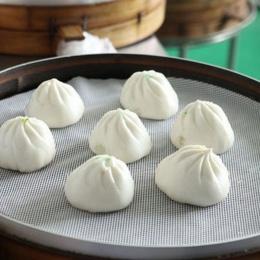 1 sztuk nie trzymać biały silikonowe do gotowania na parze Dim Sum papier restauracja kuchnia pod parowce maty kuchenne narzędzi