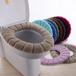 Sedes do łazienki zmywalny Closestool standardowy wzór dyni miękkie wc poduszka losowy kolor
