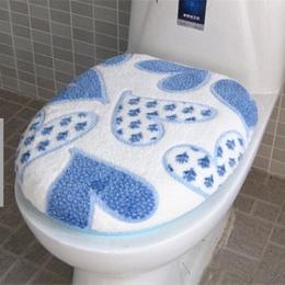 Super miękkie runo koral dwa kawałki podkładka do wc pokrycie siedzenia ciepły czysty zmywalny Twin zestaw