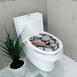 32x39 cm 4 Kolor Pokrywy Wc wc naklejki Ścienne Naklejki 3D stereo Wodoodporna Łazienka Naklejka Pvc