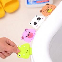 1 pc klapa sedesu urządzenie zestaw toaletowy nocnik uchwyt do kąpieli w domu łazienka produkt Cartoon toaleta pokrywa urządzeni