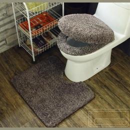Fyjafon 3 sztuk Super miękkie pogrubienie wc nocnik ustawia deska klozetowa pokrywa ciepłe blisko stołek poduszki mata