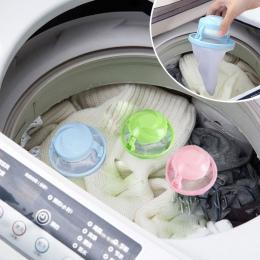 Strona główna pływające Lint wyłapywacz włosów pokrowiec siatkowy pralka do prania filtr torba 2019 banheiro łazienka pływające