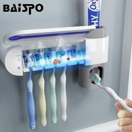 2 w 1 UV światło ultrafioletowe sterylizator szczoteczki do zębów szczoteczka do zębów automatyczna pasta do zębów dozownik wyci