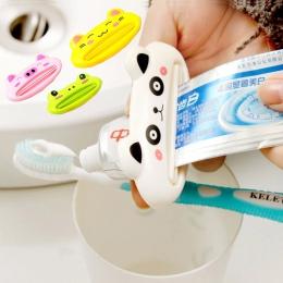 Cozy Home łazienka pasta do zębów Tube wyciskacz gorący Panda pasta do zębów dozowniki łatwe zębów szczotkowanie uchwyt dla dzie