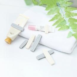3 sztuk/zestaw instrukcja pasta do zębów pasta do zębów wycisnąć pasty do zębów Tube dozownik pasta do zębów klip kosmetyki do c