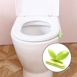 Klapa sedesu urządzenie do podnoszenia zielone liście toaleta pokrywa uchwyt do podnoszenia łazienka przenośne sanitarnych Close