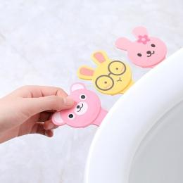 Cartoon pokrywa podnośnik deska klozetowa uchwyt łazienka pokrywa miska wc siedzenia podnoszenia uchwyt sedes do łazienki uchwyt