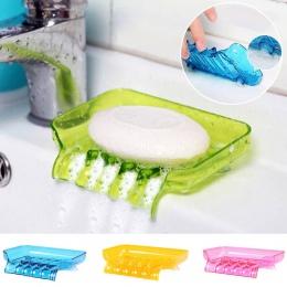 Mydelniczka mydelniczka prysznicowa akcesoria łazienkowe mydło taca uchwyt spustowy wodospad kształt 1 PC cukierki kolor kolorow
