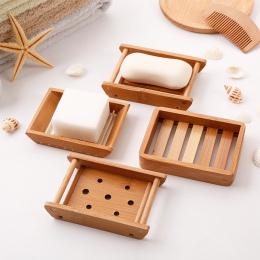 Przenośny mydelniczki kreatywny prosty bambus ręczny spust mydło box łazienka łazienka w stylu japońskim mydło mydło box