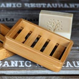 Drewniane naturalne mydło bambusowe naczynia tacka pojemnik na mydło pojemnik na talerze pojemnik łazienka w stylu japońskim myd
