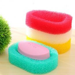 Cukierki kolor gąbka mydelniczka płyta łazienka zestaw mydelniczka