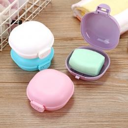 Nowy przenośny cukierki kolor pudełko na mydło do domu prysznic podróżny do mydelniczka pojemnik mydelniczka akcesoria łazienkow