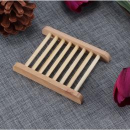 2019 drewniane naturalne mydło bambusowe danie tacka pojemnik na mydło pojemnik na talerze do kąpieli prysznic płyta łazienka