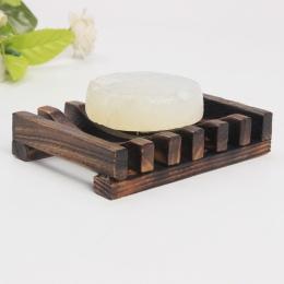 Drewniane naturalne mydło bambusowe danie tacka pojemnik na mydło pojemnik na talerze pompa dozownika balsamu 2018