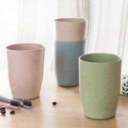 Podróży w stylu Nordic kubek biurowy kawy butelka na herbatę kubki słomy, pszenica, z tworzywa sztucznego, kubek na szczoteczki