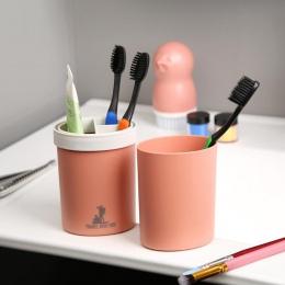 Uchwyt szczoteczki do zębów kubek pszenica słoma podróż do kąpieli do zębów pasta do zębów kubek wody kubki zestaw akcesoria łaz