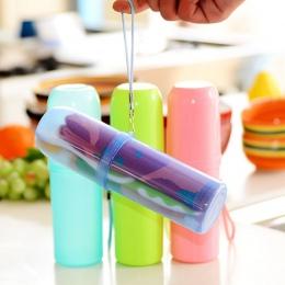 Akcesoria łazienkowe uchwyt na szczoteczkę do zębów anty bakteryjne kubek na szczoteczki do zębów pasta do zębów pudełko do prze